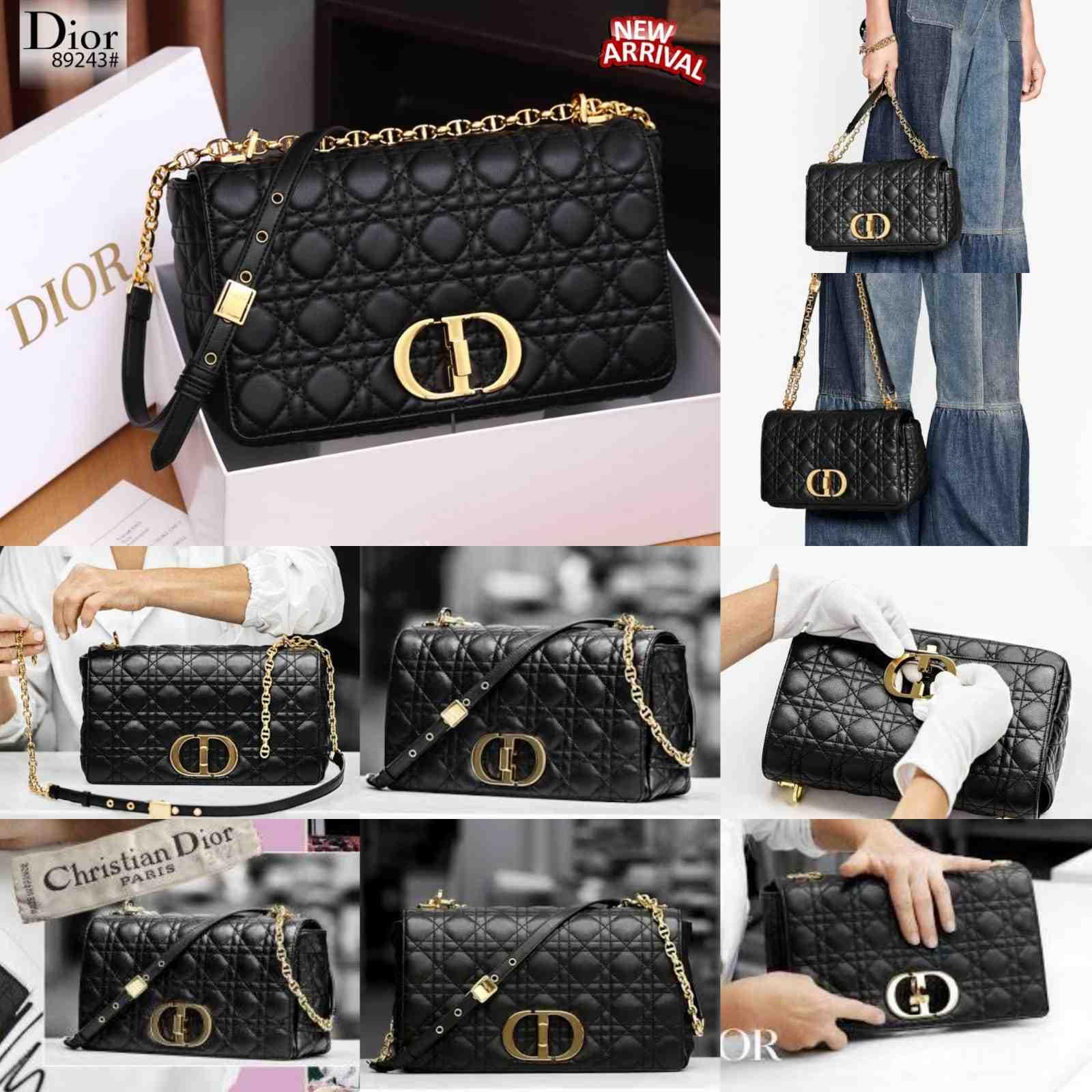 Tas DIOR SELEMPANG TERBARU,Christian Dior Caro Bag Combines Modernity Platinum Kode CD4094,Tas DIOR BATAM 3