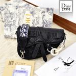 Tas Dior Terbaru 2021 Saddle Bag 27316 Platinum Kode CD4091
