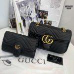 Tas Gucci Terbaru GG Marmont Matelasse Small Shoulder Bag 9072 Small Semi Premiumkode 1101