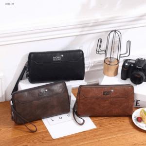Tas HANDBAG BRANDED, JUAL TAS HANDBAG Mont Blanc Handbag 2021-2 Semi Premium Kode MON034