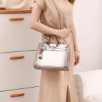 Tas Hermes Himalayan Croco Leather Kelly Bag 9013 Platinum Kode HER629