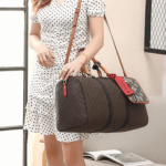 Tas LV Besar Terbaru,tas Louis Vuitton Keepall Bandouliere 45cm Travel Bag T66816 Platinium Kode LV1565