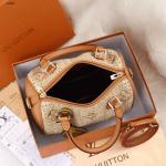 Tas LVspeedy super premium Louis Vuitton Speedy 27486 Platinum (Kode: LV1474)