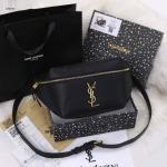 Tas YSL TERBARU Yves Saint Laurent Black Edition Bumbag W6933 Premium Kode YSL403