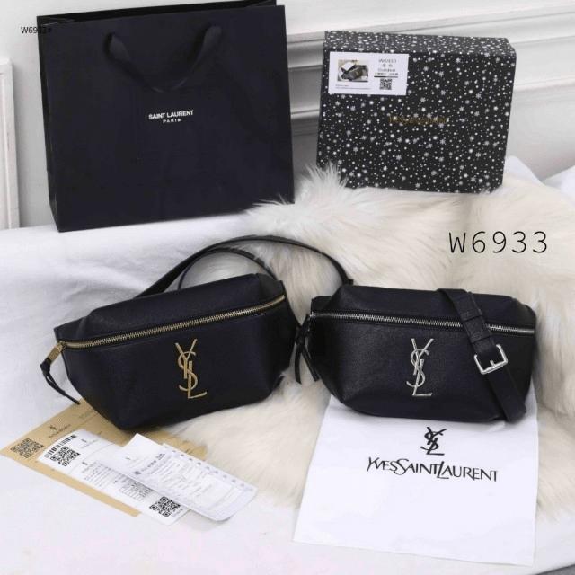 Tas YSL TERBARU Yves Saint Laurent Black Edition Bumbag W6933 Premium Kode YSL403 3