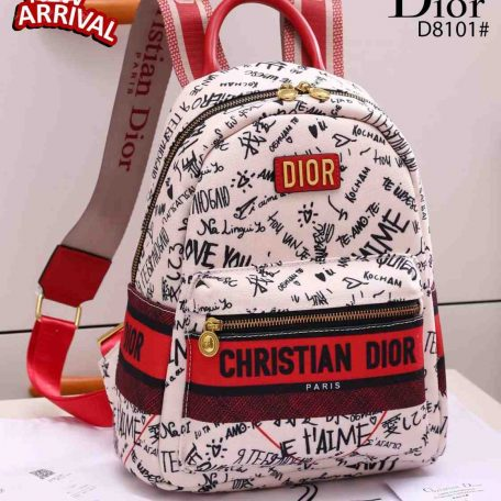 Tas batam branded, tas ransel wanita import,Christian Dior Oblique Jacquard Backpack Multi Function D8101 Semi Ori Kode CD4095 4