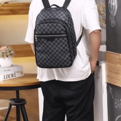 Tas louis vuitton ransel,Tas LV ransel, Louis Vuitton Michael Backpack R61013 Semi Premium Kode LV1358 6