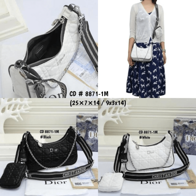 Tas selempang wanita terbaru,tas Christian Dior Crossbody CD 8871-1M Semi Premium Kode CD4097 5