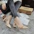Sepatu Zara Basic Vinyl 270rb Slingback Shoes 68229 Semi Premium (Kode: SZA034)