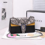 Tas Gucci TERBARU Online Exclusive Dionysus Python Bag 6603 Platinum