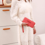 Dompet Guess Wanita, Elliana Quilted Large Zip Around Purse Wallet 98801 Semi Premium Kode DFS111