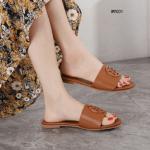 MODEL SANDAL WANITA TERBARU 2021,Sandal Tory Burch Logo Classic Leather Sandals Premium W9001 Semi Premium Kode STB270