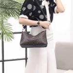 MODEL Tas Coach TERBARU dan harganya, Lewish Shoulder Bag in Signature H6020 Semi Premium Kode COA616