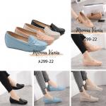 SEPATU WEDGES WANITA IMPORT,Sepatu Monna Vania Wedges A299-22 Original Brand Kode MVN101