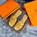 Sandal BRANDED WANITA, SANDAL Hermes TERBARU 2021, Omaha Sandals SS21 601-58 Platinum Kode SHE149