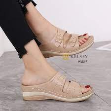 Sandal WANITA TERBARU 2021, Kelsey Cindira W115-7 Original Brand Kode SKE375 4