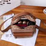 TAS RANSEL WANITA TERBARU, Tas Coach Campus Backpack 66063 Semi Premium Kode COA454