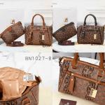 Tas BATAM IMPORT,Tas Bonia terbaru Classic Antigona GHW With Paperbag B1027-8 Semi Platinum Kode BON263