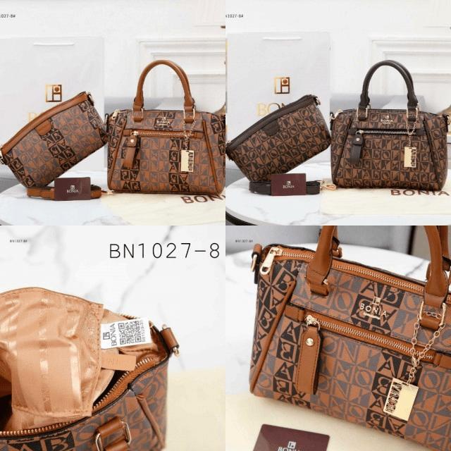 Tas BATAM IMPORT,Tas Bonia terbaru Classic Antigona GHW With Paperbag B1027-8 Semi Platinum Kode BON263 4
