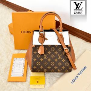 Tas Kw batam murah, tas kw murah, tas batam branded, Louis Vuitton Two-Tone Mix Monogram BagSeries 45388 Platinum Kode LV1570