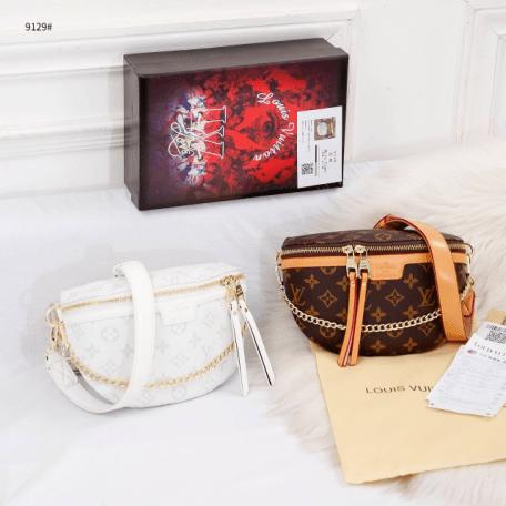 Tas Louis Vuitton Bumbag, Tas LV Bumbag in Monogram 9129 Semi Premium Kode LV1574 (2)