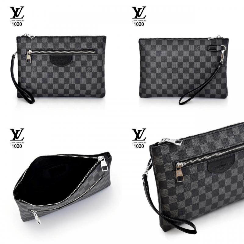 Tas Louis vuitton mini,tas lv terbaru 2021,Tas Clutch Bag Louis Vuitton Series 1020 Semi Premium Kode LV1571 3