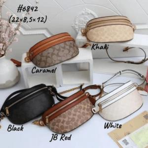 Tas Waist Bag WANITA,Tas Waist Bag Coach, Bethany Belt 6842 Semi Premium Kode COA618
