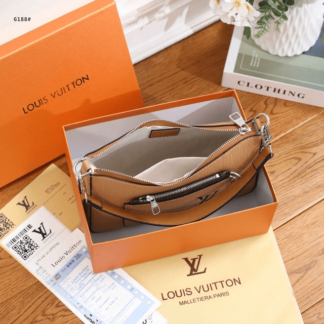 Tas kw batam, tas branded kw batam, LV Louis Vuitton Shoulder Bag 6188 Semi Premium Kode LV1573 33